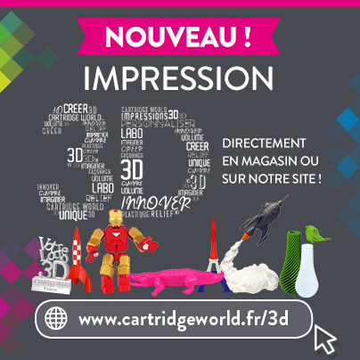 3D - Cartridge World Périgueux