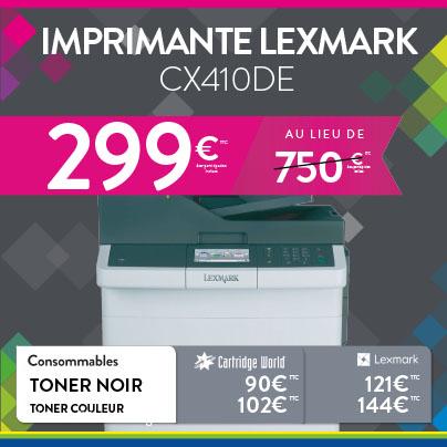 Offre Lexmark - Cartridge World Périgueux